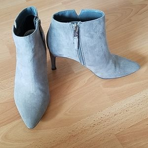 Sam & Libby ankle booties grey target